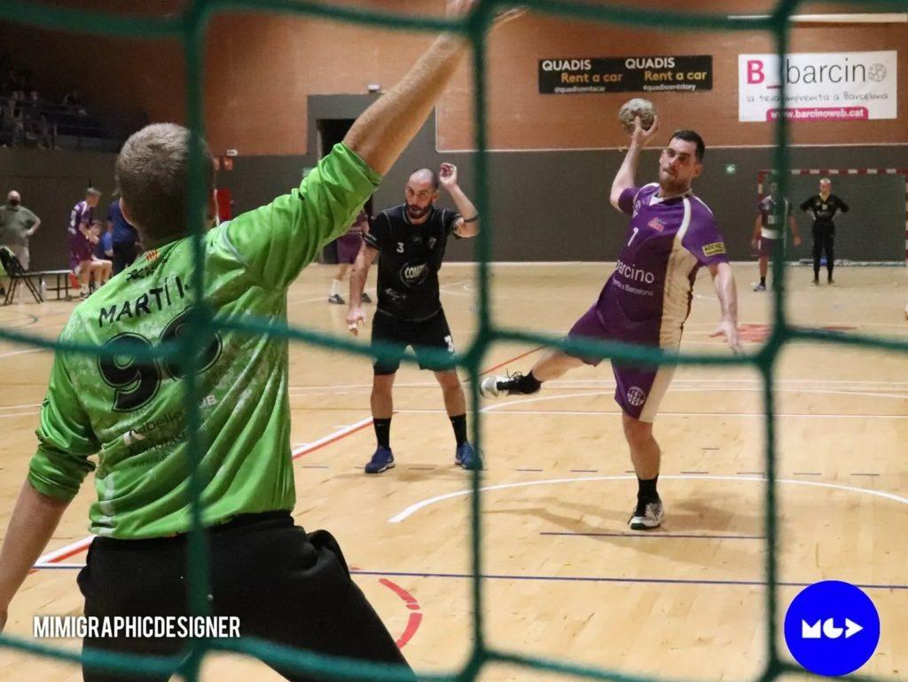 Derbi Handbol Sant Martí C contra l'Handbol Poblenou B